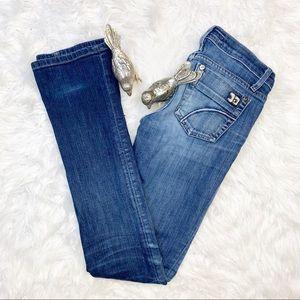 "Joe's Jeans Medium Wash ""Cigarette "" Slim Bootcut"